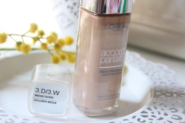 Fond de teint l'Oréal Accord Parfait : quelle teinte choisir ?